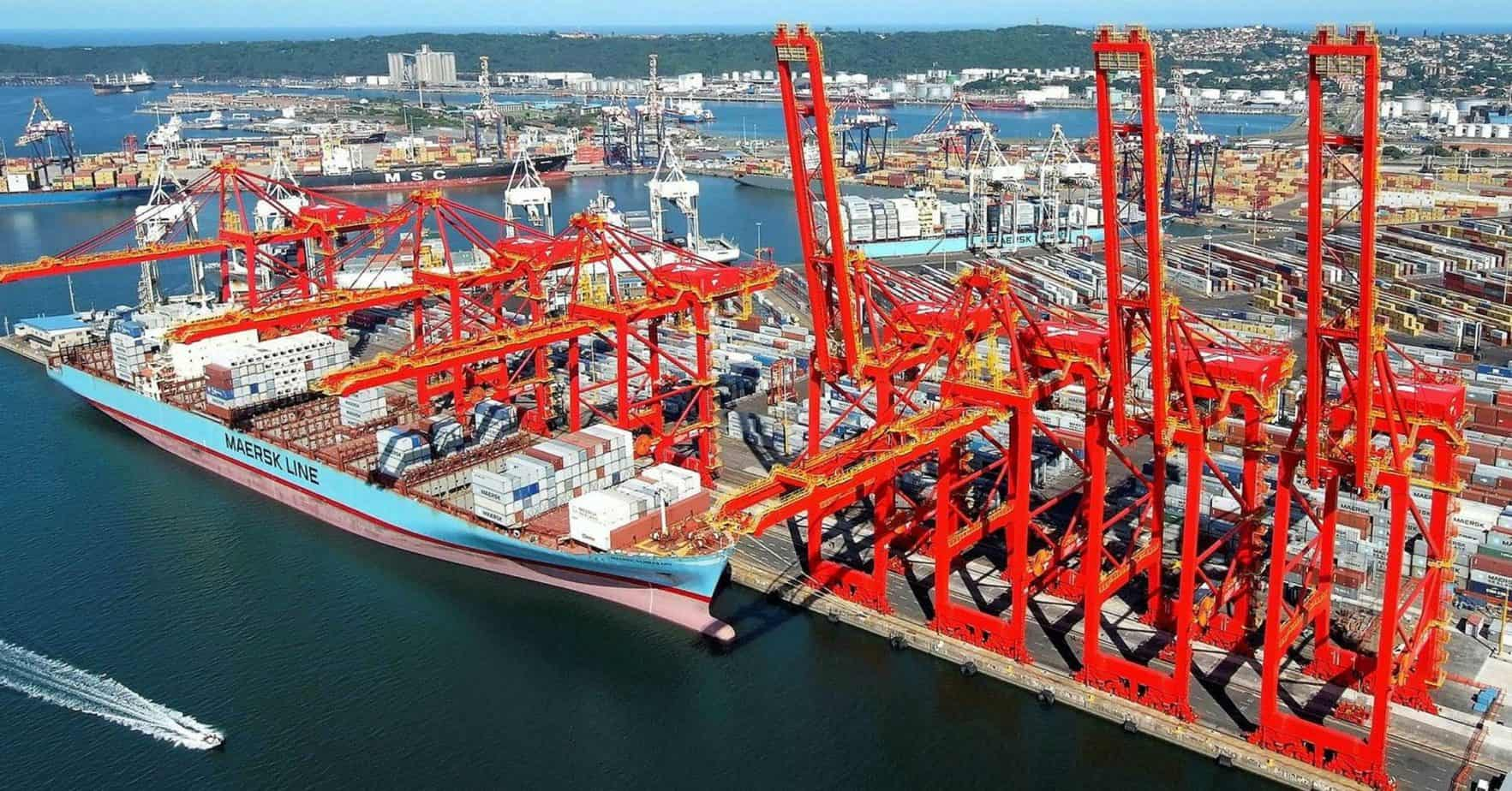 R100 billion will be needed to position Durban as a world-class port and as a hub port for the Southern Hemisphere. Photo: Supplied/Food For Mzansi