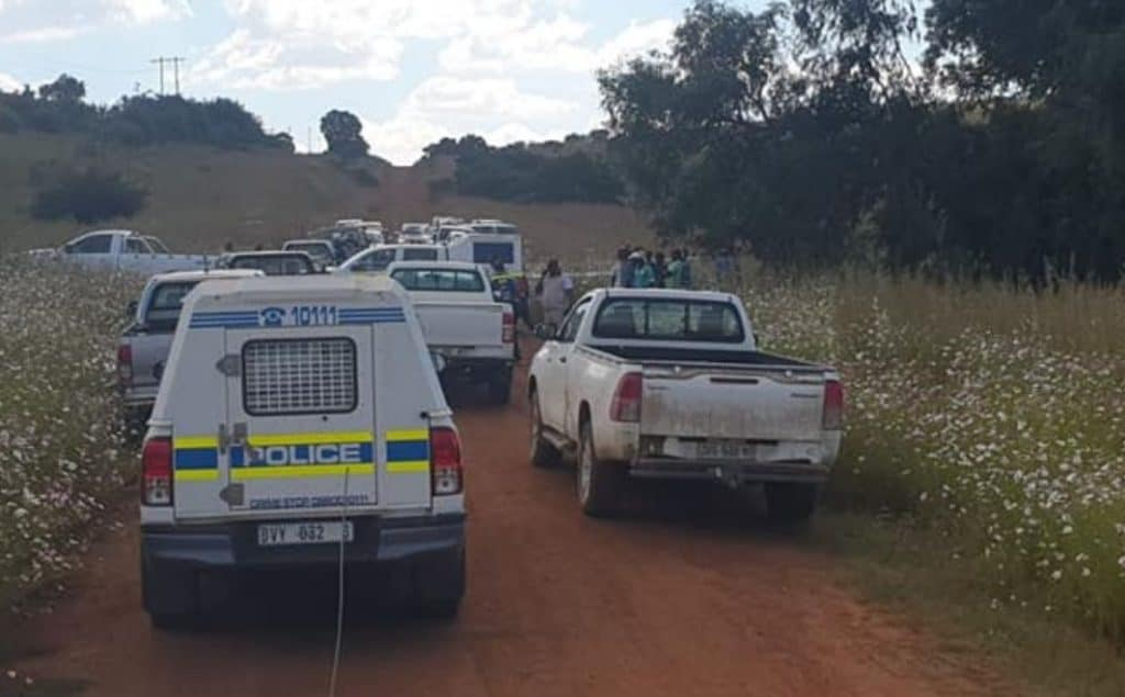 FARMWORKER KILLED: A Mpumalanga farmer and his son are among the four men accused of murdering two farmworkers on Friday, 9 April 2021. Photo: Supplied/Food For Mzansi