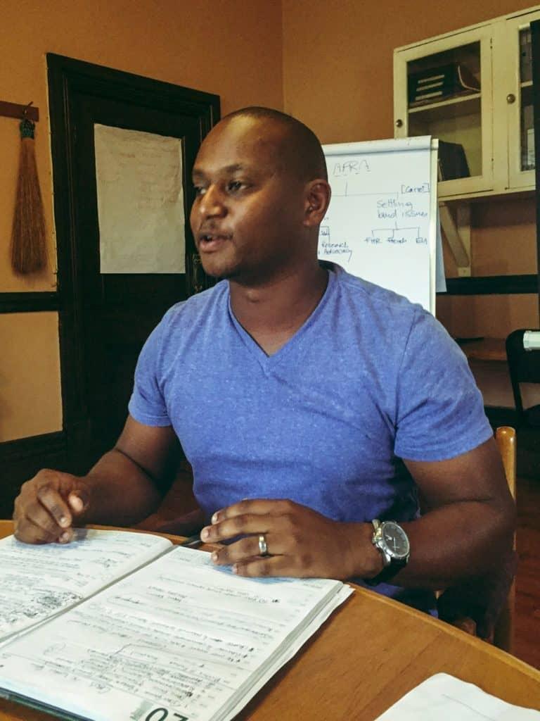 Siya Sithole, programmes manager for the Association for Rural Advancement (AFRA). Photo: Facebook
