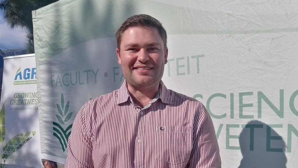 Alexander Gibson also attended the event. Photo: Food For Mzansi