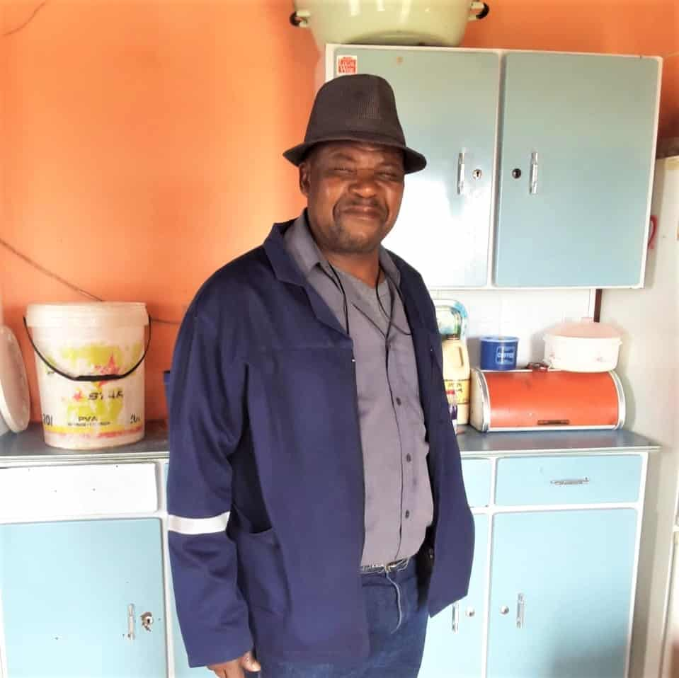 Eastern Cape poultry farmer Bonakele Mapingana is among the 53 000 subsistence farmers who received support through the Presidential Employment Stimulus Initiative. Photo:  Supplied/Food For Mzansi