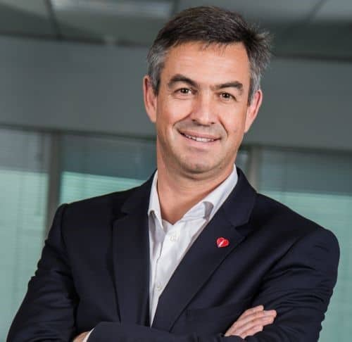 Jacques Vermeulen, the CEO of Coca-Cola Beverages Africa. Photo: Supplied/Food For Mzansi