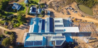 A Western Cape winery, Cederberg Wines, confirmed its commitment to sustainability by installing a solar plant installed to lower its carbon footprint in the Cederberg. Photo: Supplied/Cederberg Wines