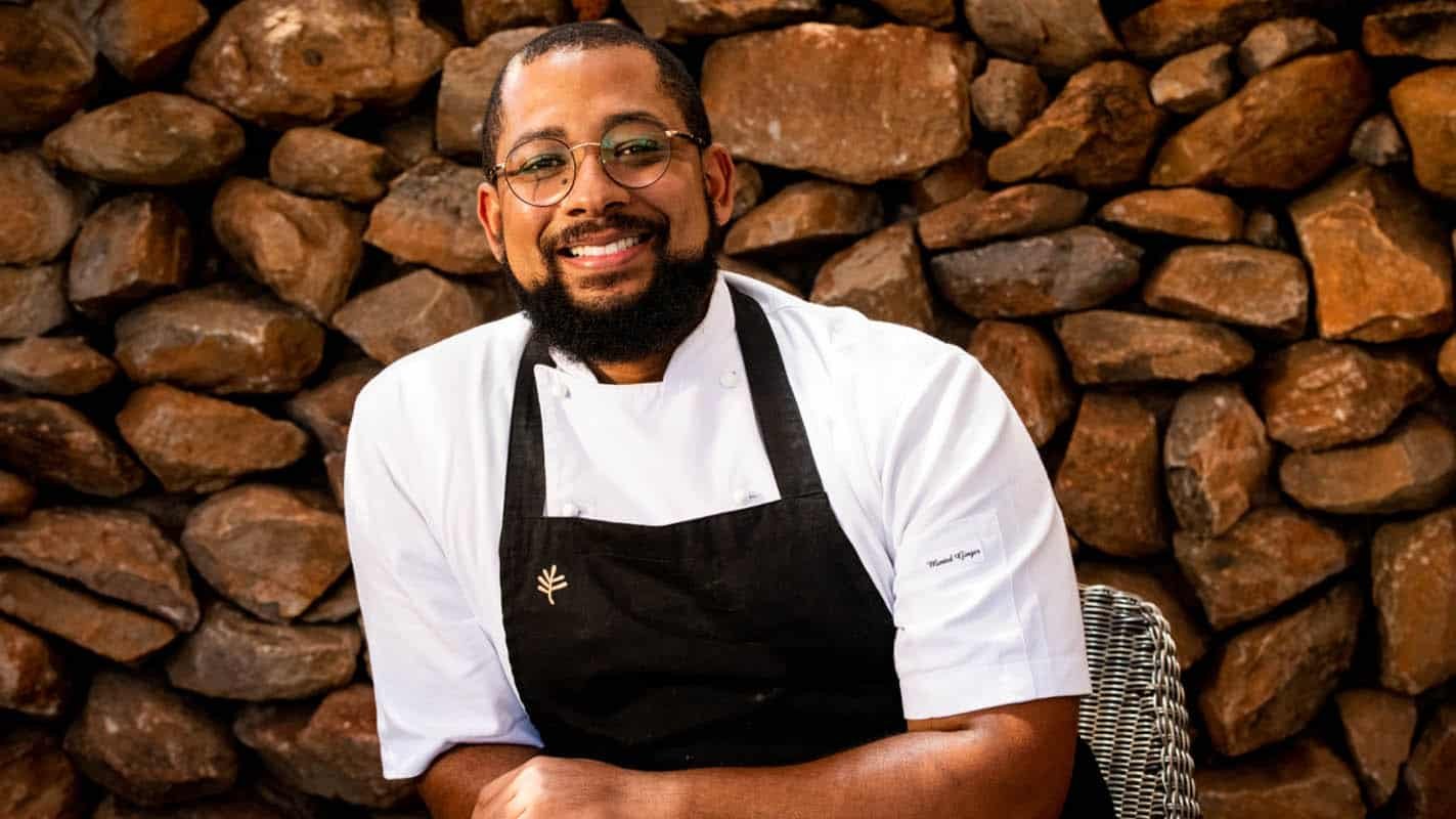 Chef Craig Jacobs (28) clung onto his dream to become a chef and today works in the kitchen of Michelin star chef, Jan Hendrick van der Westhuizen. Photo: Supplied/ Food For Mzansi