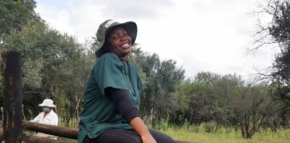 A state veterinarian in the North West, Dr Mukani Nobela is dedicated to helping communal farmers. Photo: Supplied/Food For Mzansi