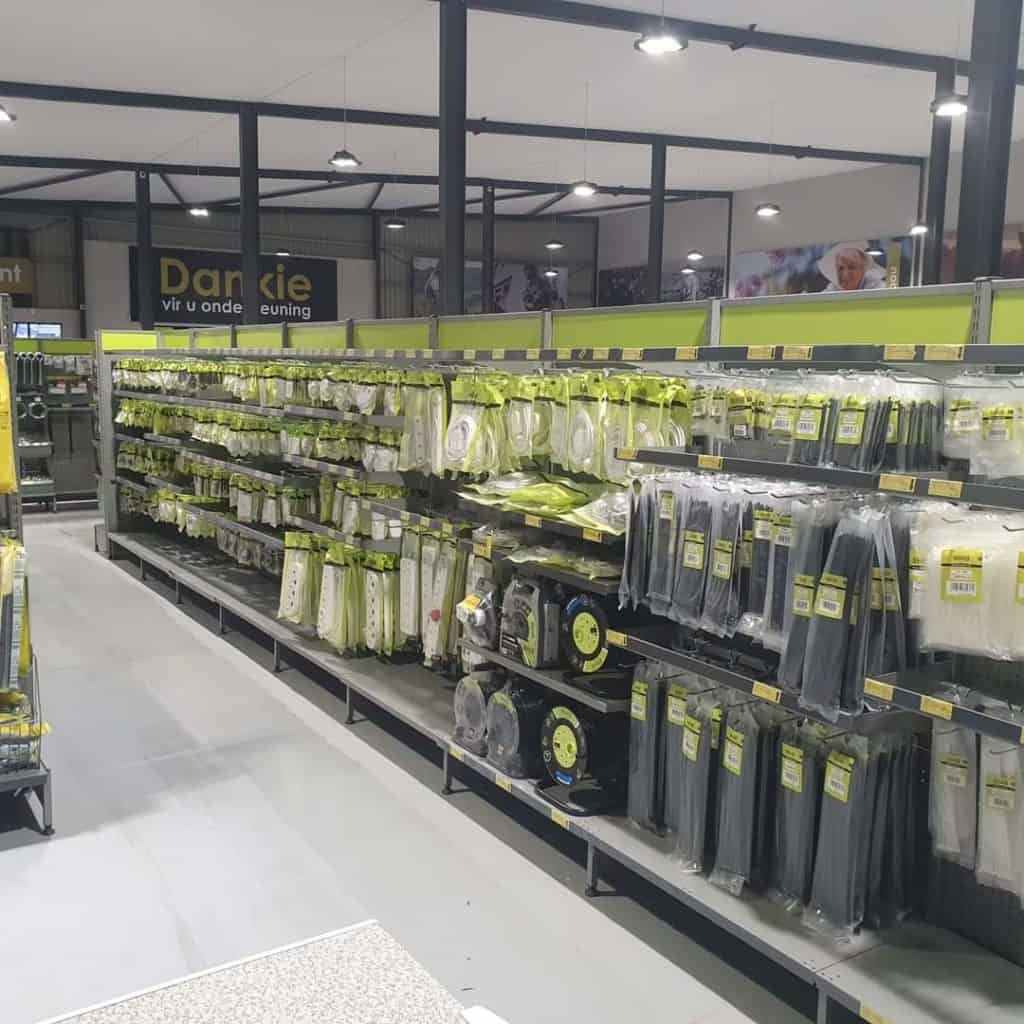 With a complete VKB Food outlet in the building, customers can look forward to high quality food and many other products at VKB's new flagship store in Harrismith in the Free State. Photo: Supplied/Food For Mzansi