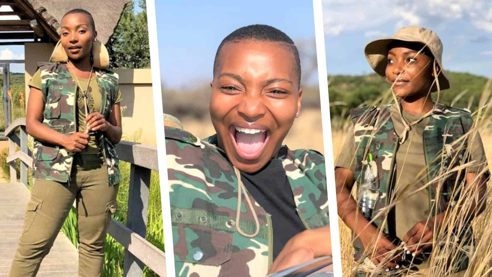 game farmer   Thembi Zikalala is effortlessly navigating between life as a full-time actor and co-owner of a game farm in Brits, North West. Photo:
