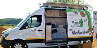 Not only does the ARC's mobile soil testing lab provide nutrient status information, it also advises farmers on the quantities of fertiliser to add at specific crop growth stages. Photo: Supplied/Food For Mzansi