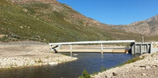 The Holsloot river weir near Rawsonville in the Western Cape. Photo: Supplied/Food For Mzansi