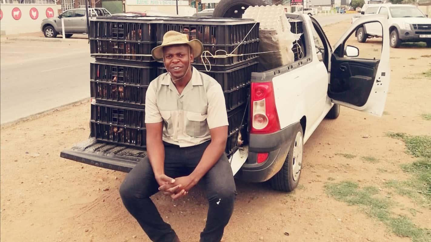 Ntoampe Mashamaite poultry farmer side hustle