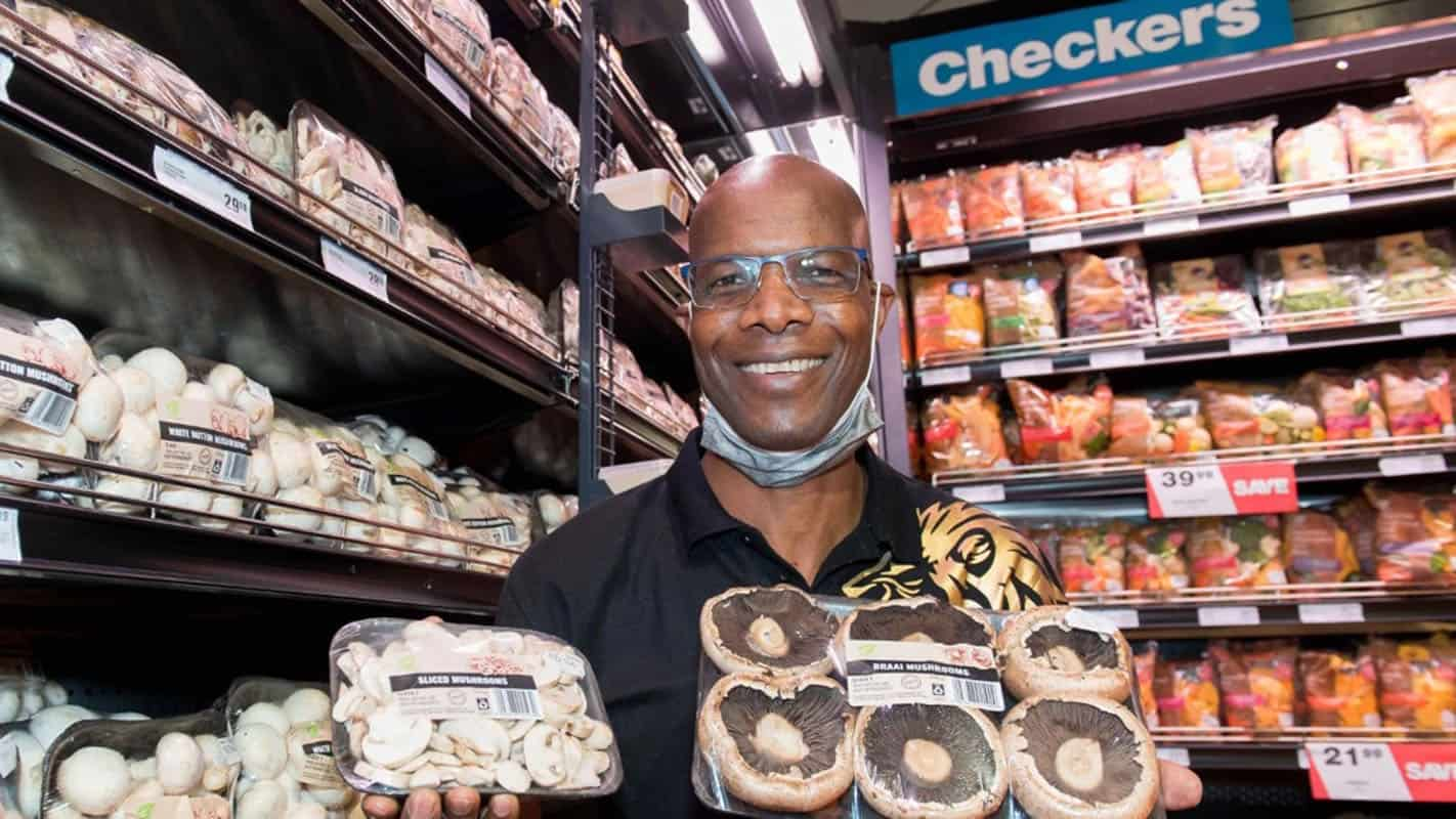 Tropical Mushrooms is the brainchild of founder and managing director Peter Nyathi. Photo: Supplied/Shoprite