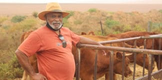 Vernon Hendricks, Gougakhoi Stock and Crop Co-op Secretary. Photo: Supplied/Food for Mzansi