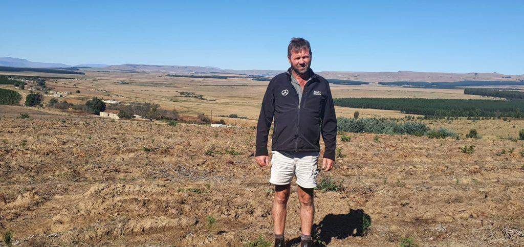 Kurt Paul is the owner of KRC Farming in Mkhondo, Mpumalanga. Photo: Noluthando Ngcakani/Food For Mzansi