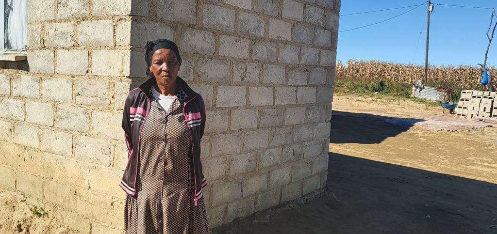 Christina Nkosi (62) has been living on the farm of Kurt Paul (55) since she was just five. Photo: Noluthando Ngcakani/Food For Mzansi