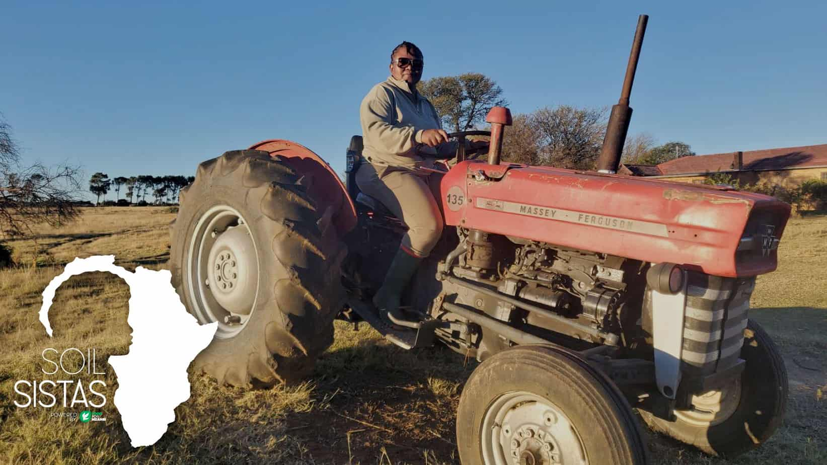 Nobuntu Makhoa, this week's Corteva Agriscience SoilSista, started her farming education when her father turned her childhood home into an informal dairy. Now she continues his legacy. Photo: Supplied