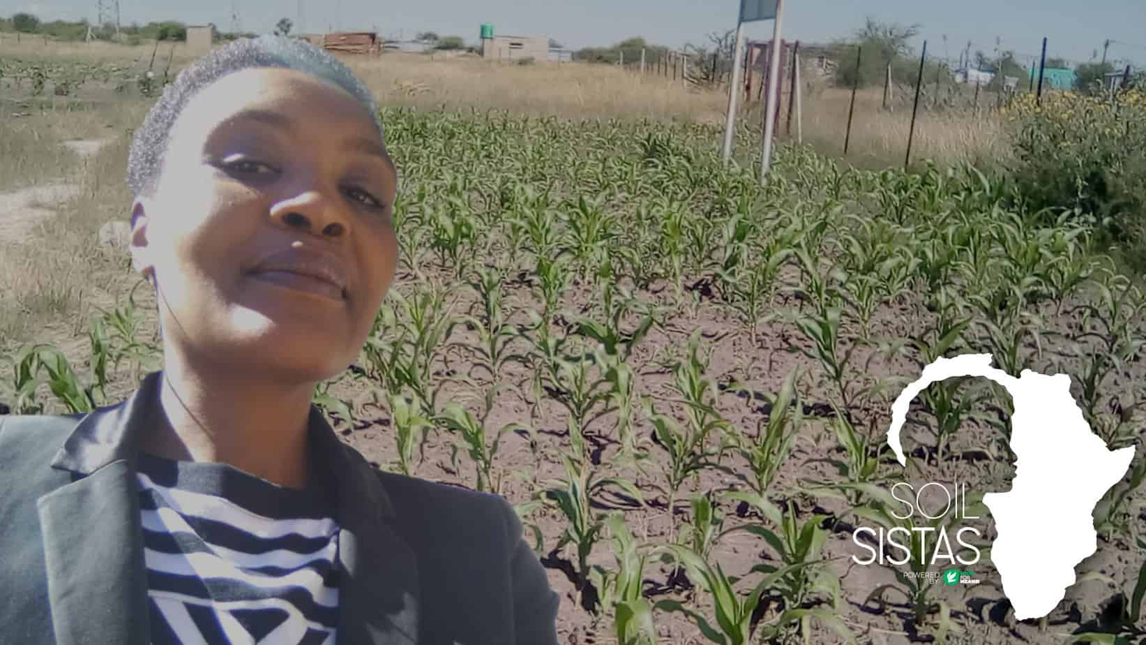 Nomathamsanqa Dyonase believes the agriculture sector is too male-dominated and is missing the special ingredients of a woman's touch to make it whole. Photo: Food For Mzansi/Supplied
