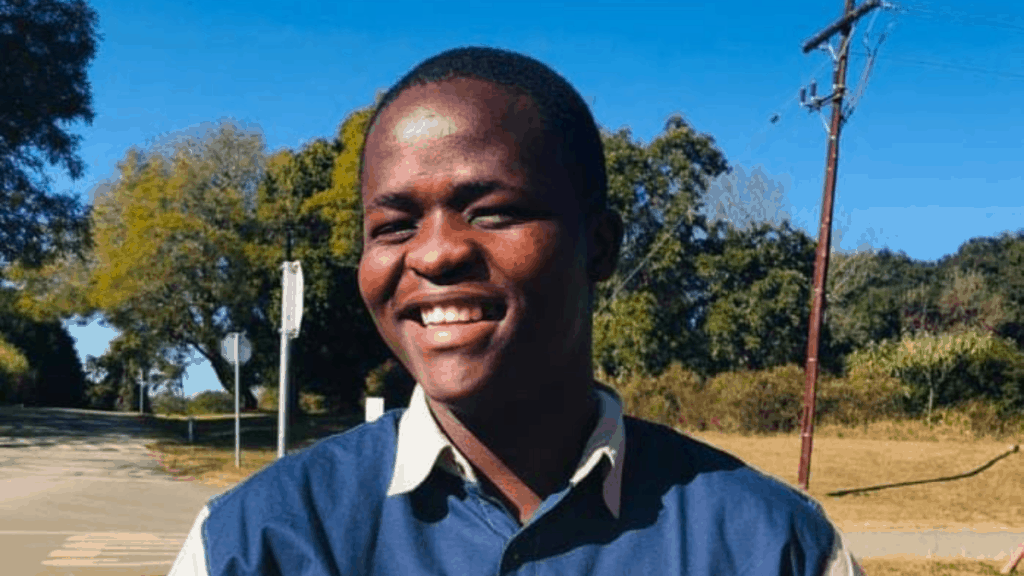 Thabo Cele, a young communal farmer from Highflats near the KwaZulu-Natal Midlands town of Ixopo. Photo: Supplied/Food For Mzansi