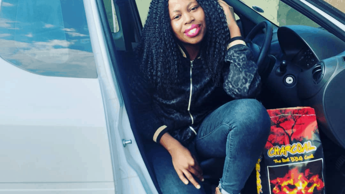 Zinhle Lorraine aims to tackle poverty and sustainability in one sweep with her eco-briquettes