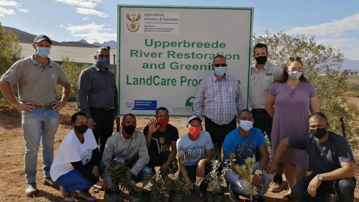 The Worcester Veld Reserve Indigenous Tree Nursery was established in collaboration with the Breedekloof Wine & Tourism which represents approximately 30 cellars and other partners such as the NGO, Change Makers Rehab Centre and French NGO, Reforestation. Photo: Supplied/ Food For Mzansi