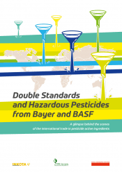 """A new study, """"Double standards and hazardous pesticides from Bayer and BASF,"""" has shocked the global agricultural sector with its glimpse behind the scenes of the international trade in pesticide active ingredients. Photo: Supplied/Food For Mzansi"""