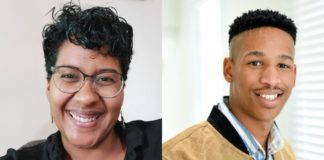 Food For Mzansi's multi-award-winning podcast called Farmer's Inside Track is co-anchored by journalists Dawn Noemdoe and Duncan Masiwa. Noemdoe is the editor: audience and engagement at Food For Mzansi. Photos: Supplied/Food For Mzansi