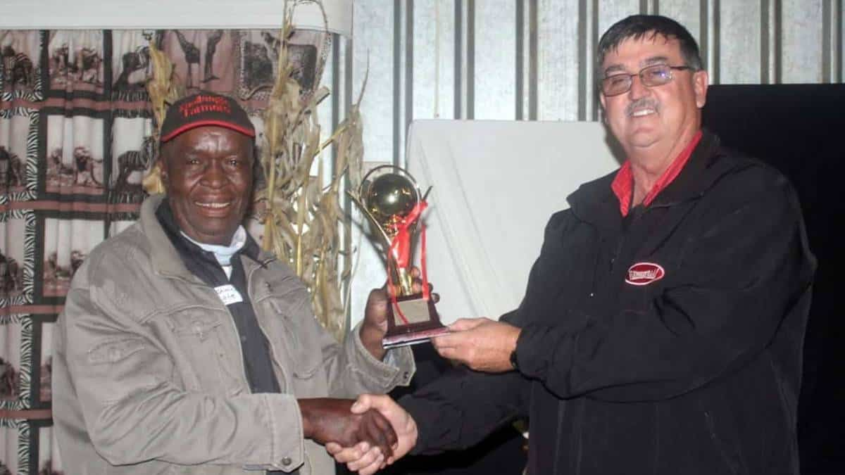 The Kaallaagte Farmers' Association, representing a group of 15 newly-commercialising black farmers, hosted their first auction on the grounds of the Gilead Boerevereniging between Lindley and Petrus Steyn in the Free State. Photo: Duncan Masiwa/Food For Mzansi