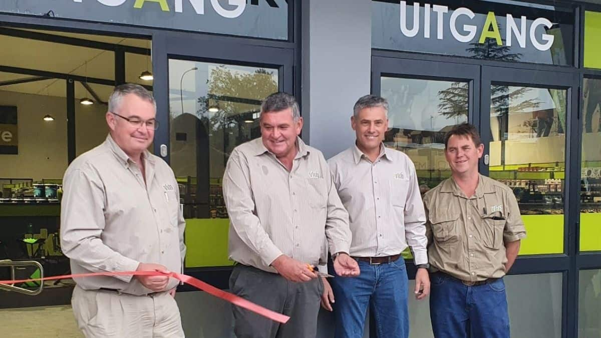 The VKB Group's brand-new flagship store opened to much fanfare in Harrismith in the Free State. While the store features many old favourites that VKB stores are known for, the new branch also boasts a VKB Food outlet. Photo: Supplied/Food For Mzansi
