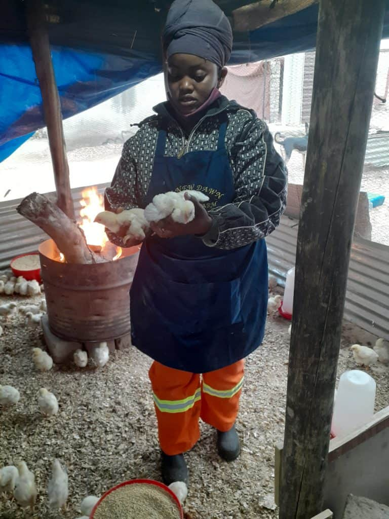 Ramokone Kwakwa side hustle poultry farmer