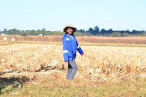 Entrepreneur Cleopatra Banda aims to educate marginalised women int he agri-sector