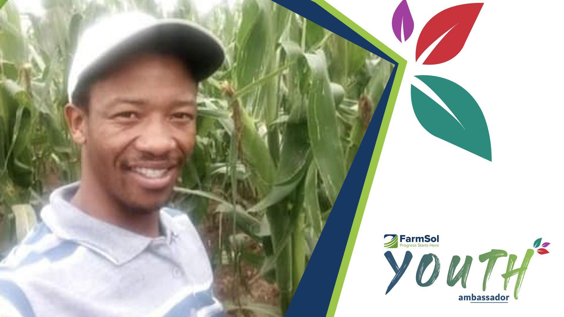maize farmer Hudson Dhladhla