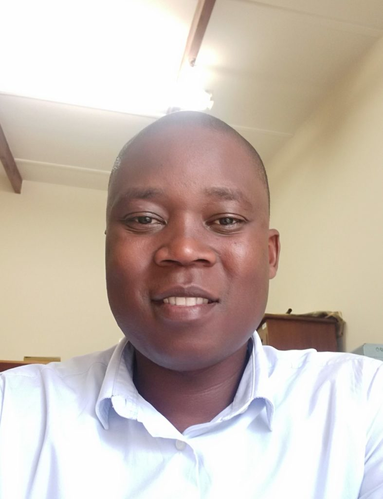 Patrick Rakau, a PhD candidate in crop science at the University of KwaZulu-Natal.