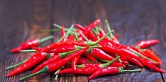 Currently, a 1.5kg tray of red chillies in Gauteng can fetch between R100 and R120 for farmers with a high quality and well-packaged product. Photo: Supplied/Food For Mzansi