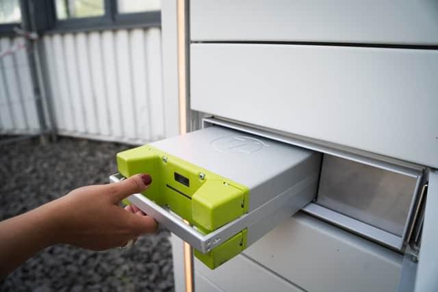 battery storage for renewable energies