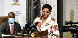 Basic education minister Angie Motshekga updated South Africans on her department's response to the impact of Covid-19 on schooling. Photo: GCIS/Flickr
