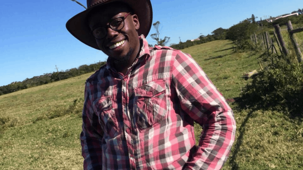 Youth Day: Siviwe Tikana manages his family's 42-hectare dairy farm near East London Photo: Supplied/Food For Mzansi