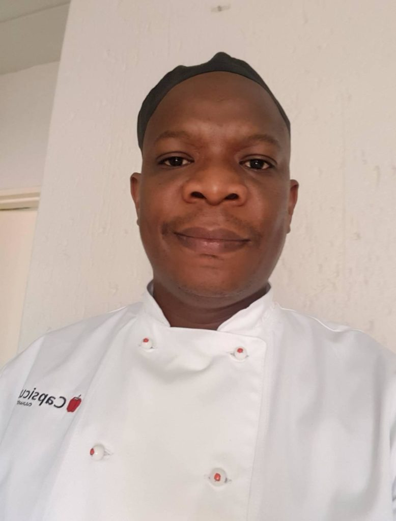 Chef Khosi Mpiti (39) vowed to pursue his culinary dreams after making a promise to his mother. Photo: Supplied/ Food For Mzansi