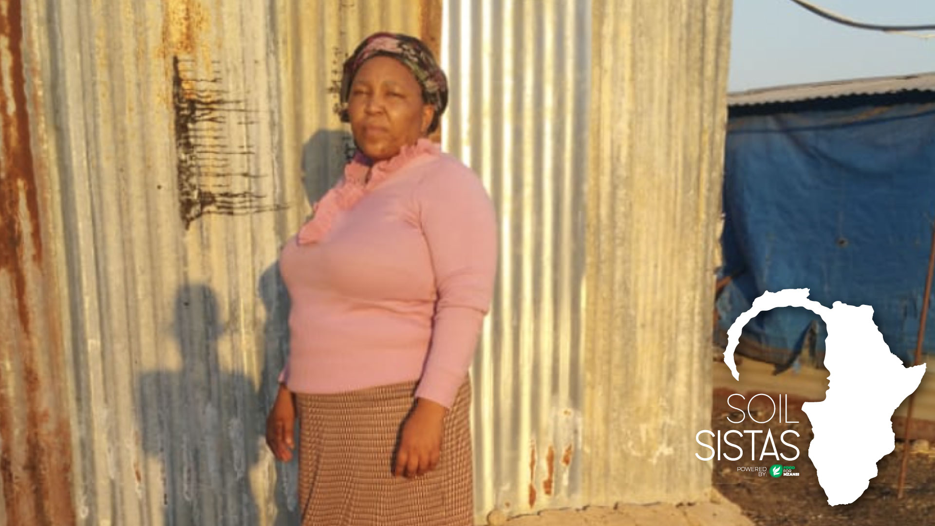 Poultry farmer Pertunia Botlhole never imagined she would end up in farming