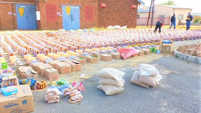 Illicit alcohol trade: Earlier this month, the Limpopo police confiscated R175 800 worth of smuggled sorghum beer. Photo: Supplied/SAPS