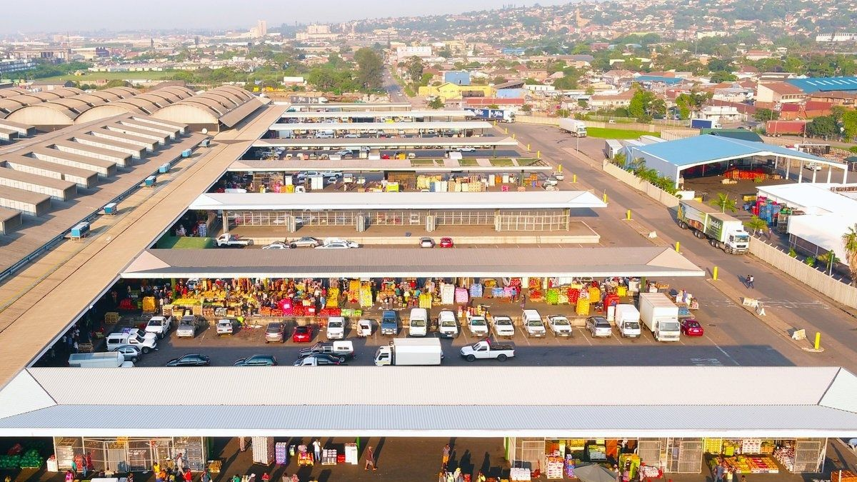 Ranked as the third largest public commission market in South Africa, in both turnover and tonnage of produce, the Durban Market has established itself as a formidable player in the industry. Photo: Supplied/Food For Mzansi