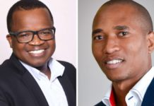 Wandile Sihlobo and Dr Sifiso Ntombela are chief economists of the Agbiz and the NAMC, respectively. Photos: Supplied/Food For Mzansi
