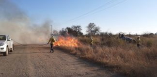 Over 67 000ha of grazing land in the Free State was destroyed by fires during the course of July 2021. Photo: Supplied/Eric Stoch