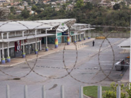 looters Philani Valley mall in Umlazi remains closed after it was affected in the recent insurrection. Picture: Rogan Ward