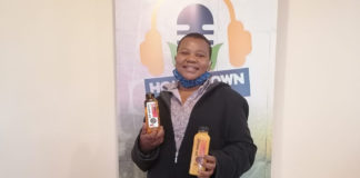 Juice manufacturer: Chef Hope has put her passion for making food into making juice. Photo: Supplied/Food For Mzansi.