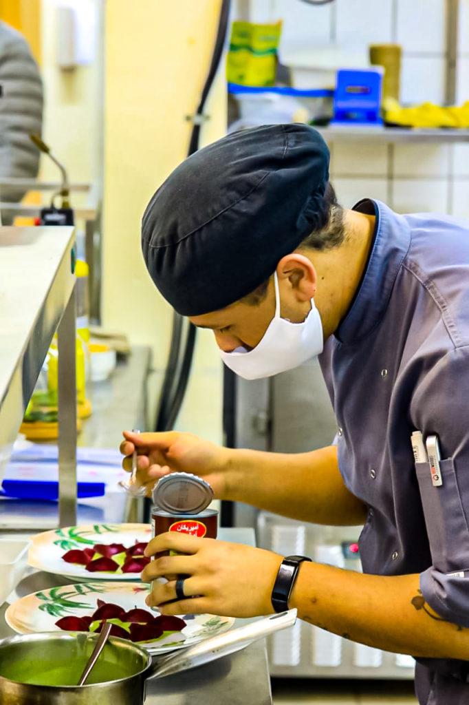 As a child, Bernard Hartzenberg did never imagine that one day he would study hospitality, and eventually become a professional chef. Photo: Supplied/Food For Mzansi