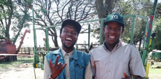 Voermol farmers: The Mbense brothers learnt to farm from their grandmother. Photo: Supplied/Food For Mzansi.