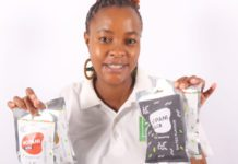 Phuti Kabasa started her mopani processing business from her kitchen. Photo: Supplied/Food For Mzansi.