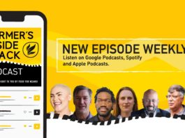 This week's podcast features (from left) Terri-Ann-Brouwers, Dr Naudé Malan, Julian Kanjere, Renate Griessel, Kevin Naidoo, Barry Nel, and Dr Sifiso Ntombela. Photos: Supplied/Food For Mzansi