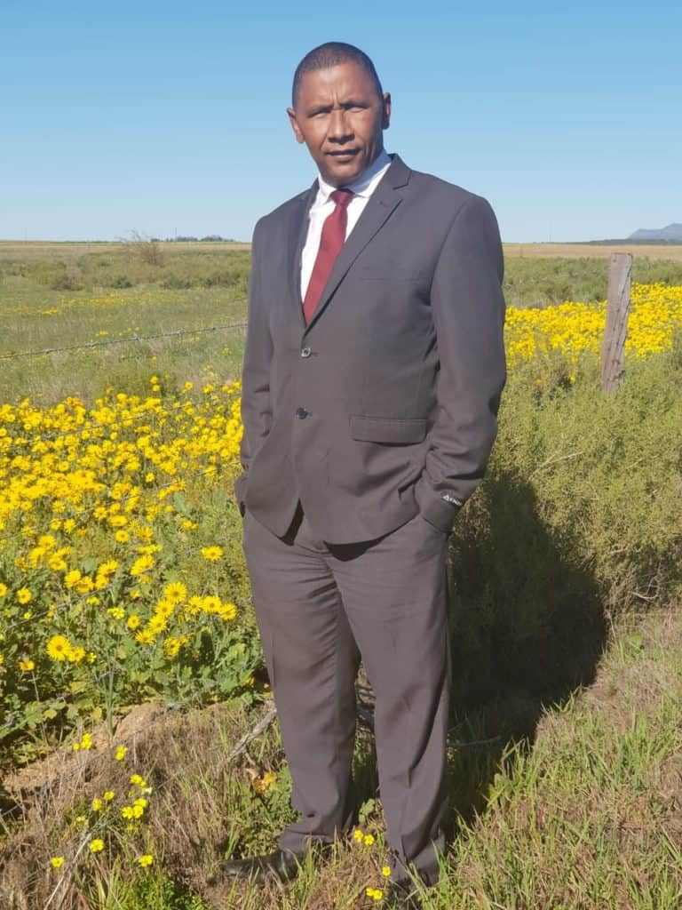 Fighting vax holdout: Executive director of the Rural and Farmworkers Development Organisation, Billy Claasen. Photo: Supplied/Food For Mzansi