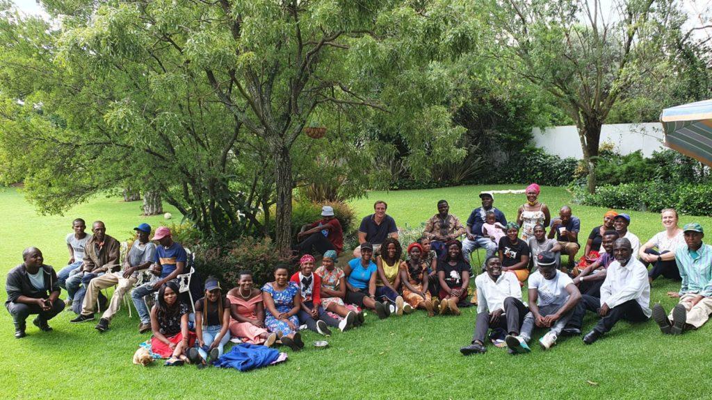 The Polyorganics team. Photo: Supplied/Food For Mzansi.