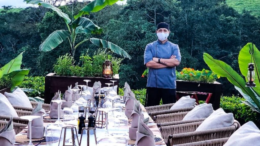 Bernard Hartzenberg currently works at the One&Only Nyungwe House, surrounded by a tea plantation and home to one of the oldest rainforests in Africa. Photo: Supplied/Food For Mzansi